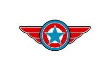 Símbolo americano Foto de archivo libre de regalías