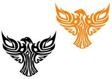 Símbolo americano da águia ilustração stock