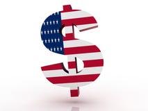 Símbolo americano del dólar libre illustration