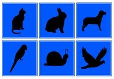 Símbolo animal ilustração royalty free