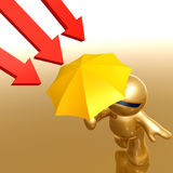 Símbolo anti del icono de la metáfora del virus Foto de archivo