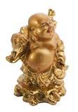 Símbolo antiguo de Buda aislado en el fondo blanco Imágenes de archivo libres de regalías