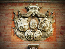 Símbolo antiguo de Ortigia (Sicilia) Imágenes de archivo libres de regalías