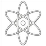 Símbolo atômico ilustração stock