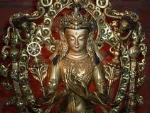 Símbolo blanco de Tara Statue del amor y de la compasión fotos de archivo libres de regalías
