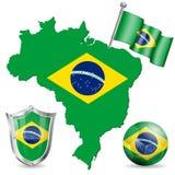 Símbolo brasileño Imagen de archivo