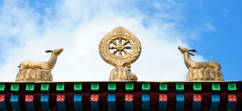 Símbolo budista (JPG +EPS) Foto de archivo
