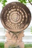 Símbolo budista (JPG +EPS) Foto de archivo libre de regalías