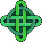 Símbolo céltico del nudo Fotografía de archivo libre de regalías