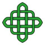 Símbolo céltico del verde del nudo libre illustration