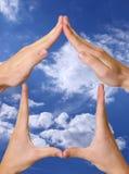 Símbolo casero Imagen de archivo libre de regalías