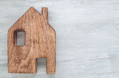 Símbolo casero de la casa Imagenes de archivo