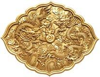 Símbolo chinês do dragão Foto de Stock Royalty Free