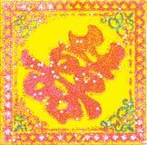 Símbolo chino de la felicidad doble Fotografía de archivo libre de regalías