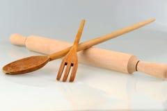 Símbolo clásico de la cocina Foto de archivo libre de regalías