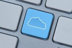 Símbolo computacional de la nube imagen de archivo libre de regalías