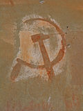 Símbolo comunista Fotografia de Stock Royalty Free