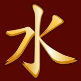 Símbolo confuciano (JPG +EPS) Foto de archivo libre de regalías