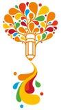 Símbolo creativo Imagens de Stock Royalty Free
