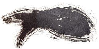 Símbolo cristiano de los pescados de la pintura al óleo exhausta de la mano fotografía de archivo
