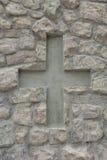 Símbolo cruzado Foto de archivo libre de regalías