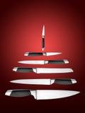 Símbolo da árvore de Natal ilustração do vetor