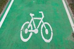 Símbolo da bicicleta Imagem de Stock Royalty Free