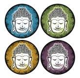 Símbolo da Buda Fotos de Stock