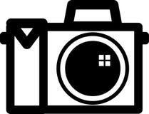 Símbolo da câmera ilustração stock