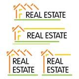 Símbolo da casa Imagem de Stock