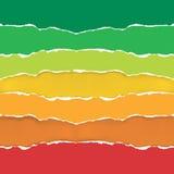 Símbolo da casa com a escala de desempenho da energia Foto de Stock Royalty Free