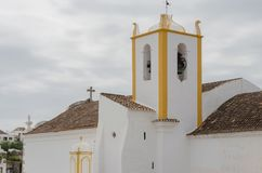 Símbolo da cidade - castelo Tavira em Portugal Foto de Stock Royalty Free