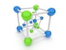 Símbolo da conexão Foto de Stock Royalty Free