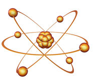 Símbolo da energia nuclear ilustração royalty free