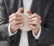 Símbolo da estratégia empresarial instintiva foto de stock royalty free