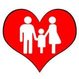 Símbolo da família Foto de Stock Royalty Free
