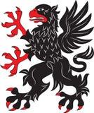 Símbolo da heráldica do grifo Imagens de Stock