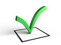 Símbolo da lista de verificação Imagens de Stock Royalty Free