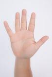 Símbolo da mão Imagem de Stock