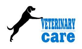 Símbolo da medicina veterinária Imagens de Stock