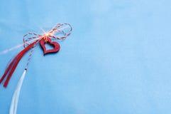 Símbolo da mola para o amor, alargamento da lente Fotos de Stock Royalty Free