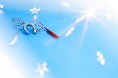 Símbolo da mola para a sorte Imagem de Stock