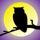 Símbolo da noite Imagens de Stock