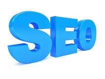 Símbolo da otimização do Search Engine. 3d Imagens de Stock