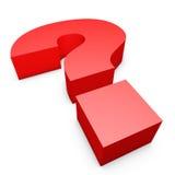 Símbolo da pergunta Imagem de Stock