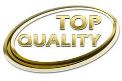 Símbolo da qualidade SUPERIOR Imagens de Stock