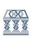 Símbolo da universidade Imagem de Stock