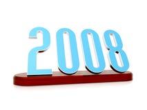 Símbolo de 2008 Imagem de Stock