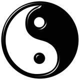 símbolo de 3D Tao Foto de archivo libre de regalías