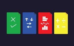 Símbolo de ações Imagem de Stock Royalty Free